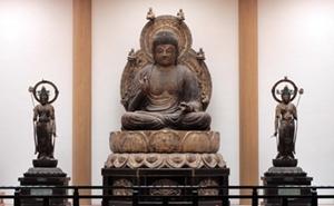 醍醐寺の薬師三尊像