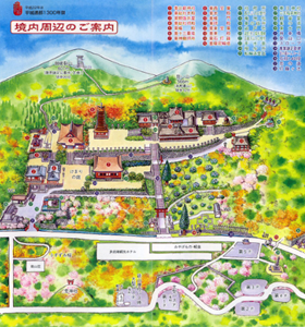 談山神社境内図
