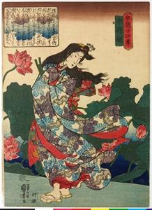 歌川国芳による中将姫