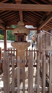 日本最古の石灯籠