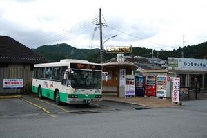 室生寺行きのバス
