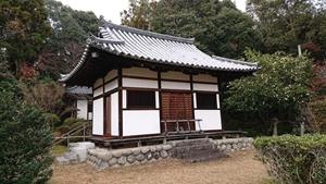 秋篠寺開山堂