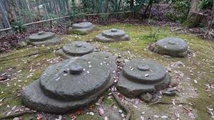 秋篠寺東塔礎石