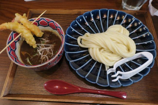 海老カレーつけ麺定食