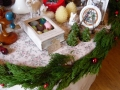 ナンフェア クリスマスのディスプレイ
