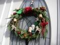 ナンフェア クリスマスのリース