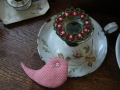 ナンフェア タティングレースのリース 小鳥