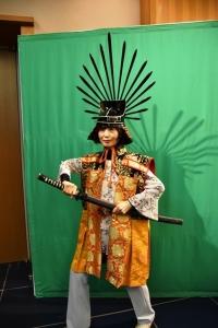 下部と・陣羽織試着体験コーナー 大阪城