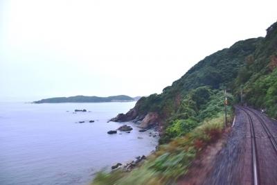 山陰西部の日本海