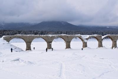 タウシュベツ川橋梁 3