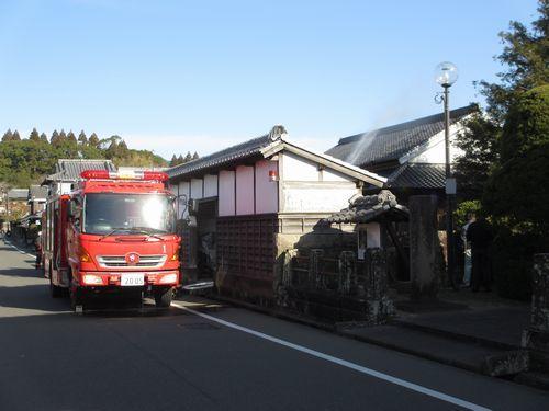 IMG_9124文化財防火デー消防車