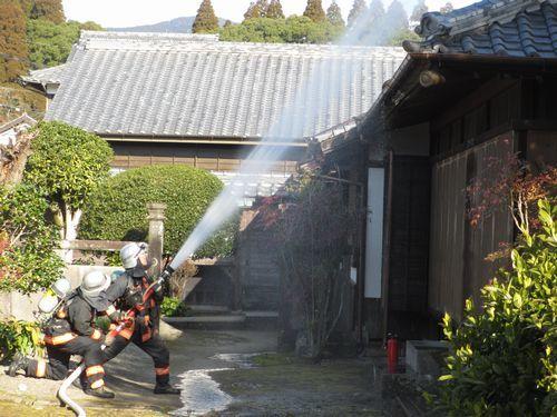 IMG_9122文化財防火デー放水