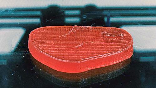 3Dプリンターで作るベジステーキ