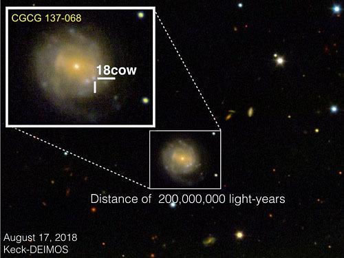 星がブラックホールになる瞬間が見えた