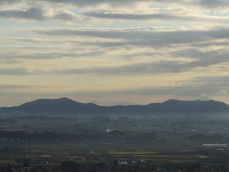 181125三足富士~大小山~山川浅間山 (5)s