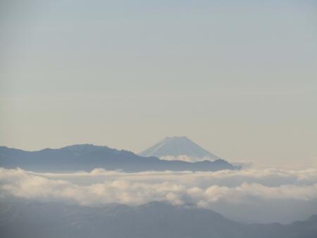 190106黒斑山~蛇骨岳 (3)富士山s