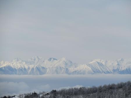 190106黒斑山~蛇骨岳 (11)穂高・大キレットs