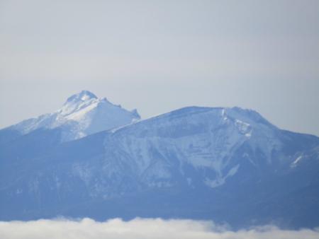 190106黒斑山~蛇骨岳 (27)赤岳~硫黄岳s