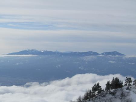 190106黒斑山~蛇骨岳 (32)八ヶ岳s