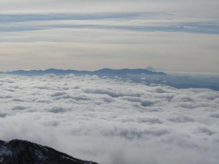 190106黒斑山~蛇骨岳 (37)富士山・奥秩父s