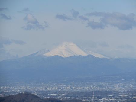190126行道山~両崖山~足利駅 (12)s浅間山