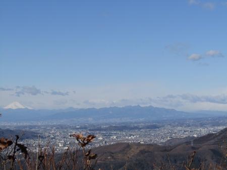 190126行道山~両崖山~足利駅 (14)s浅間山・榛名山