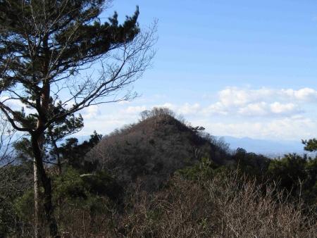 190126行道山~両崖山~足利駅 (17)s天狗山