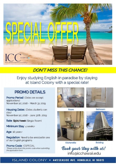 IC Promotion flyer Nov2018