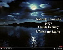 Debussy Claire de Lune ドビュッシー「月の光」 ピアノ