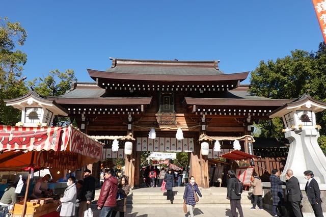 20190104 初詣 湊川神社 (1)