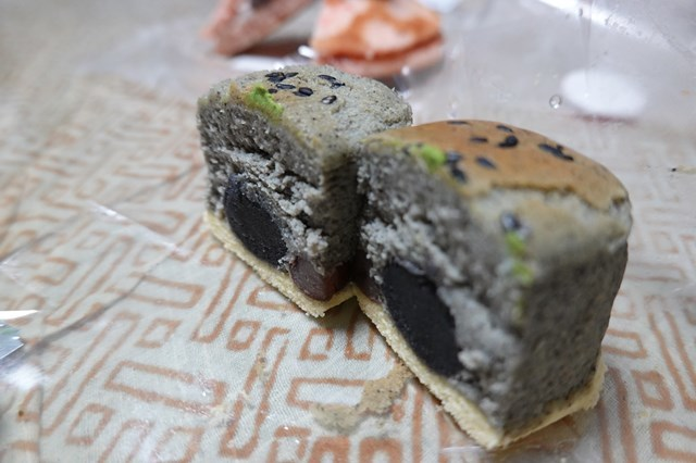 20190127 満月堂 (9)黒胡麻チーズケーキ