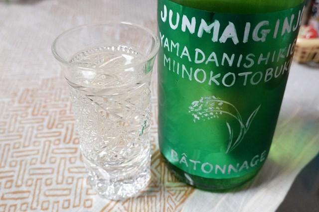 20190130 三井の寿 純米吟醸ヤマダ60 バトナージュ (7)