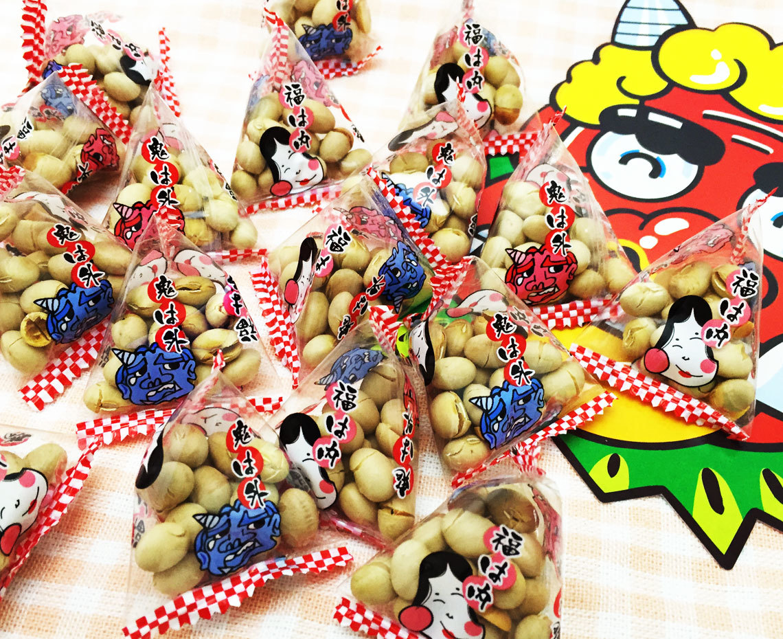 福豆(徳用テトラ)国産大豆/120g(約20袋入)