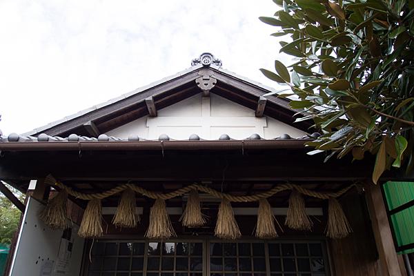 出雲大社愛知日の出教会建物屋根