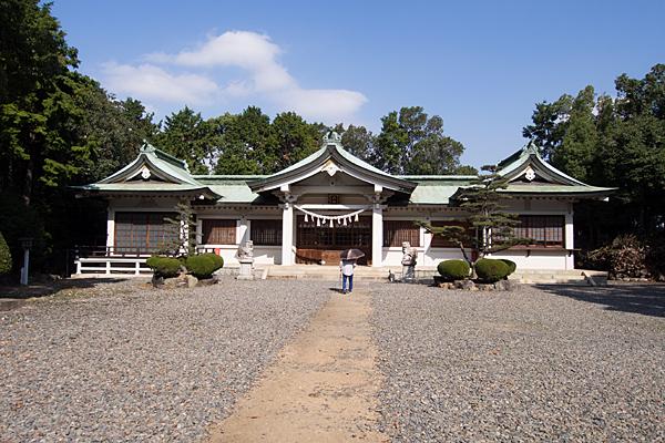 古鳴海八幡社参拝者