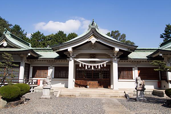 古鳴海八幡社拝殿正面
