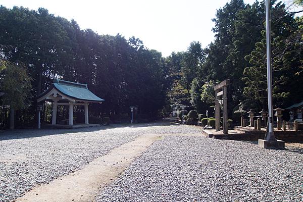 古鳴海八幡社境内の風景