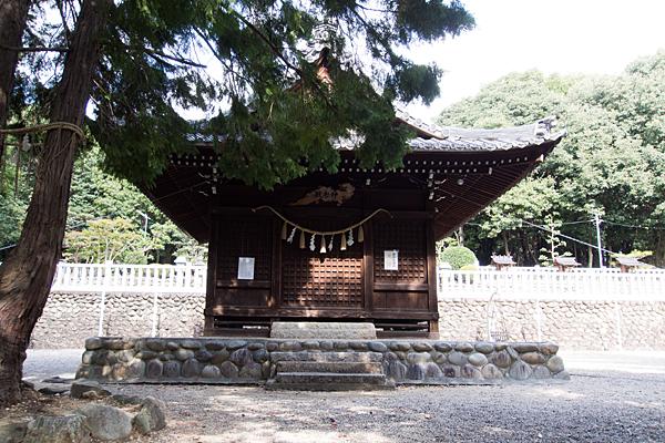 相原郷諏訪社神楽殿