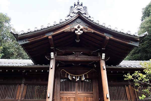 相原郷諏訪社祭文殿