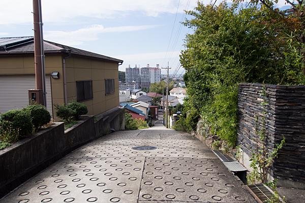 有松神社街を見下ろす