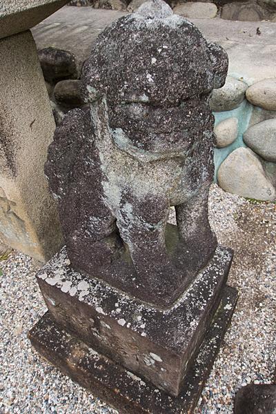 桶狭間神明社狛犬