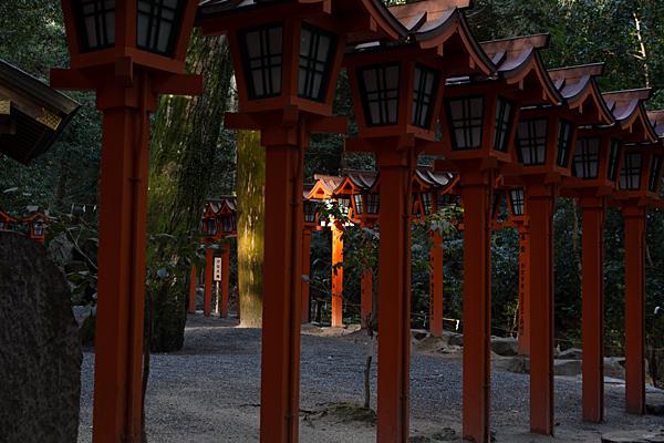 椿大神社灯篭