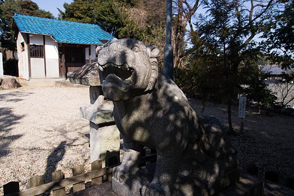 移田神社狛犬