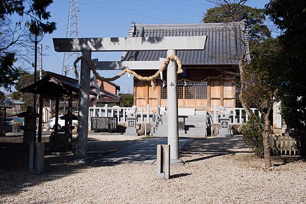 移田神社二の鳥居