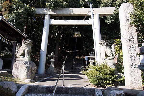 苗代神社二の鳥居
