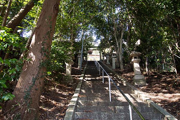 苗代神社階段