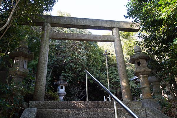 苗代神社三の鳥居