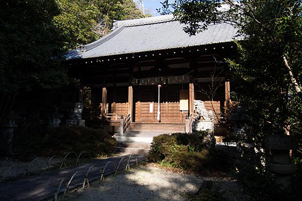 苗代神社拝殿