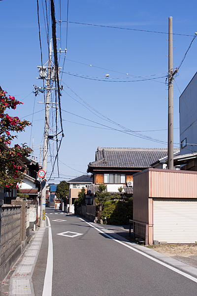 朝日町旧東海道