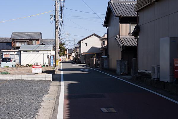 朝日町旧東海道風景